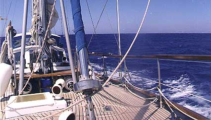 Teak decks on steel ketch 44.JPG (34655 bytes)