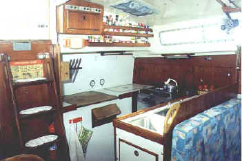 Whitby 42 ocean cruiser for sale galley.JPG (17811 bytes)