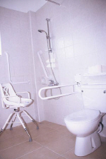 Disabled toilet facilities in Cyprus