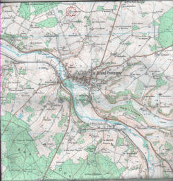map of grande pressigny france