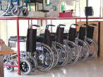 Manual wheelchairs for hire in Cyprus. - click to enlarge