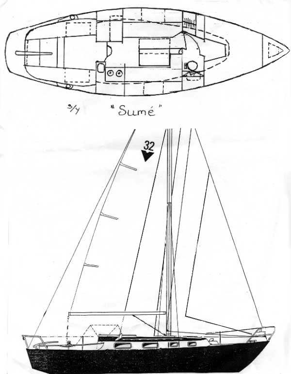 Amel: Found Free yacht boat plans